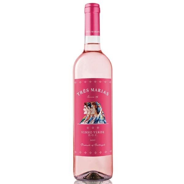 Vinho Verde Rosé Três Marias 750ml