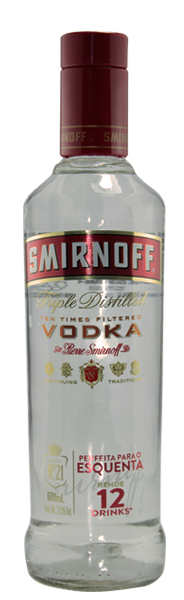 Vodka Smirnoff 600ml