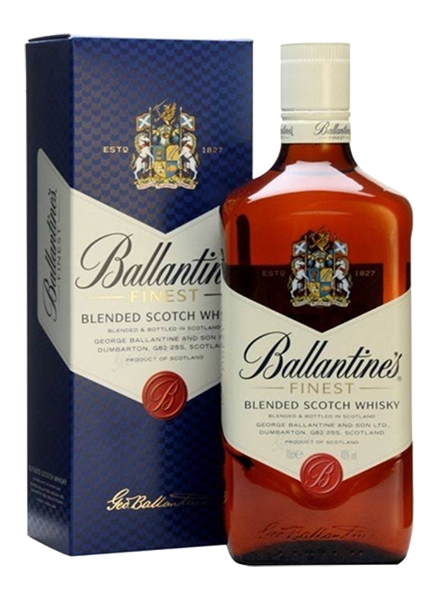 Whisky Ballantine's Blend Scotch 12 anos