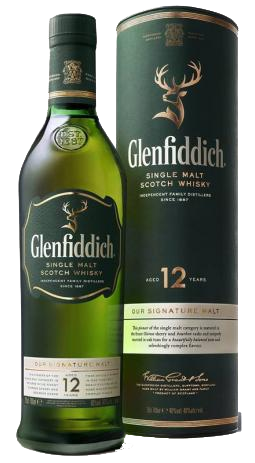 Whisky Glenfiddich Scotch 12 anos