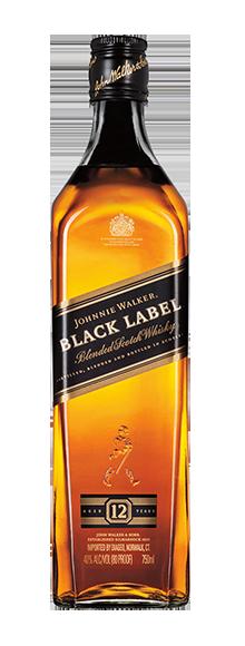 Whisky Johnnie Walker® Black Label 750ml