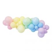 100 bexiga candy color tamanho 9