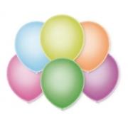 50 Unidades - Tamanho 5 - Balão - Bexiga Neon Sortido
