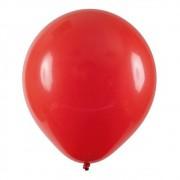 Bexiga número 6,5 Vermelho   - 100 unidades