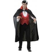 Capa de Vampiro Halloween - 1 unidade