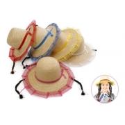 Chapéu Palha Sobral Com Trança Infantil