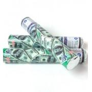 Lança Confete Dólar  30cm