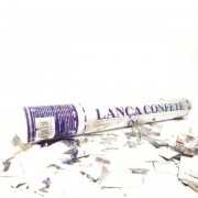 Lança Confete Prateado  30cm