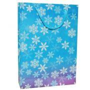 Sacola flocos de neve 10 unidades