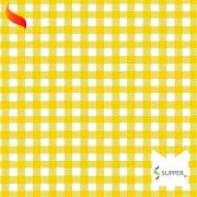 Tnt Estampado quadriculado xadrez amarelo 1,4m X 2m