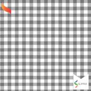 Tnt Estampado quadriculado xadrez preto 1,4m X 2m