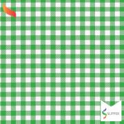 Tnt Estampado quadriculado xadrez verde 1,4m X 2m