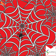 Tnt Estampado Teia Homem Aranha 1,4m X 5m