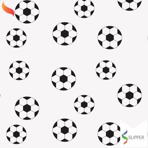 2 metros Tnt Estampado Futebol