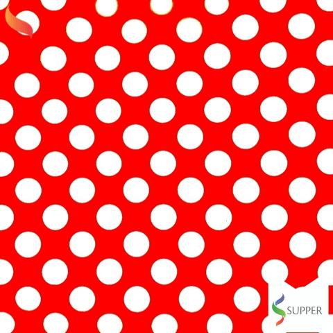 2 metros tnt poá bolinha vermelho e branco