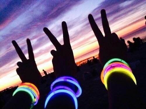 100 pulseira neon