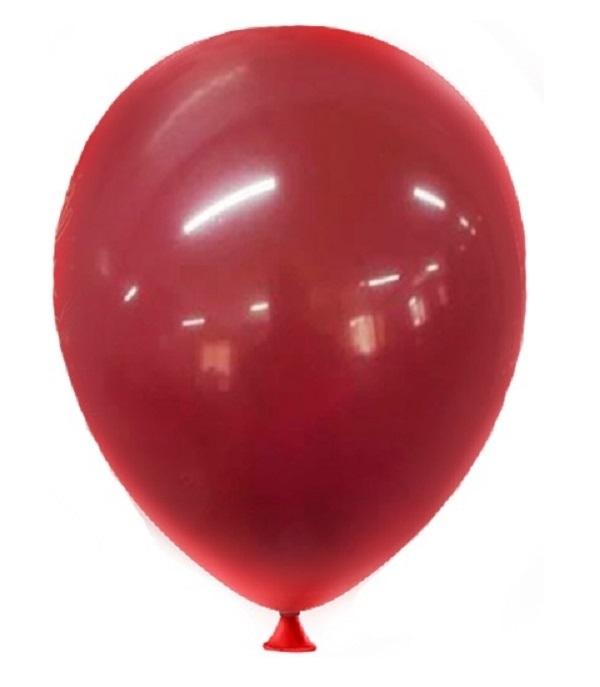 50 Unidades Tamanho 5 Balão - Bexiga Marsala