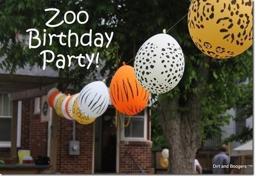 25 Balão Bexiga Safari sortido