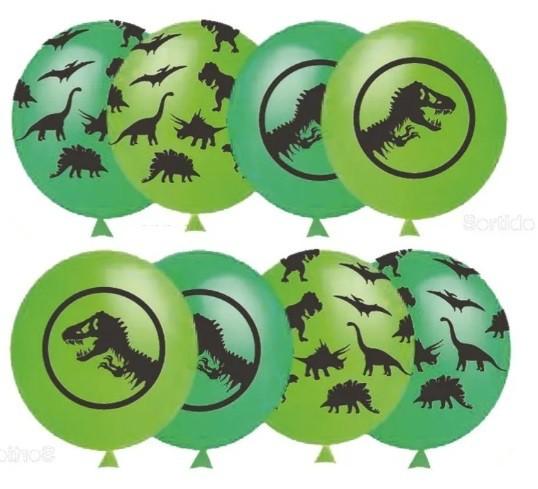 25 Balão Bexiga Dinossauro Sortido N 11