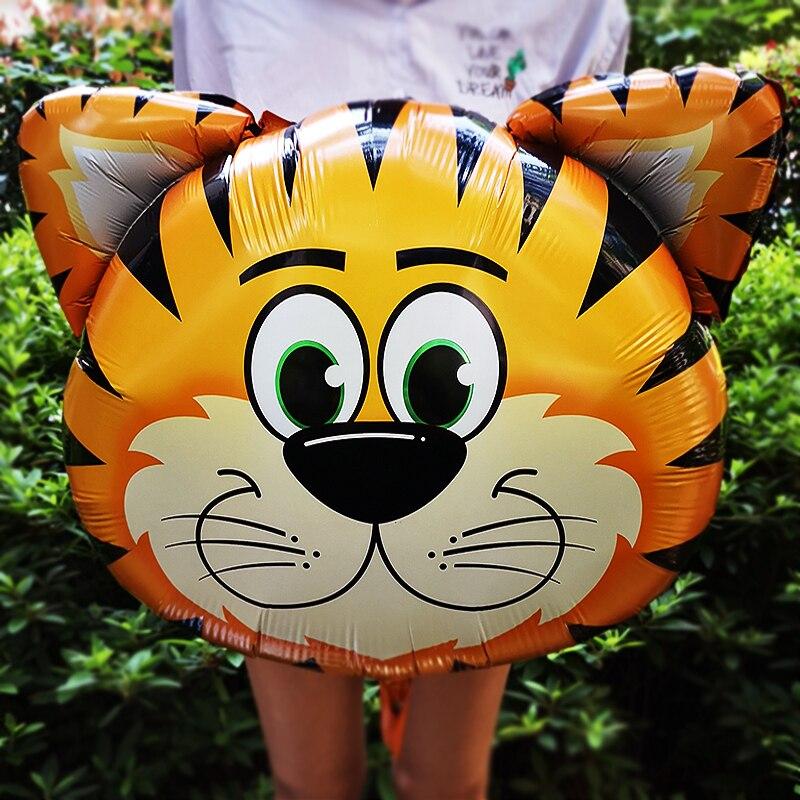 Balão metalizado safari animais Grande