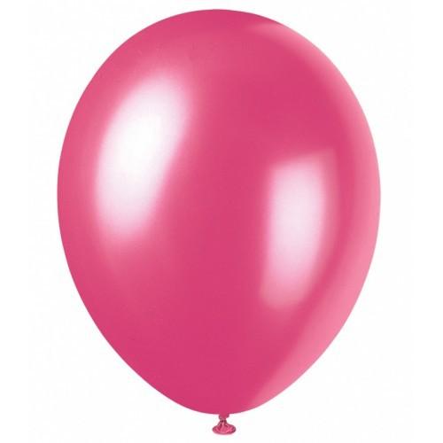 Bexiga número 6,5 Rosa Pink - 100 unidades