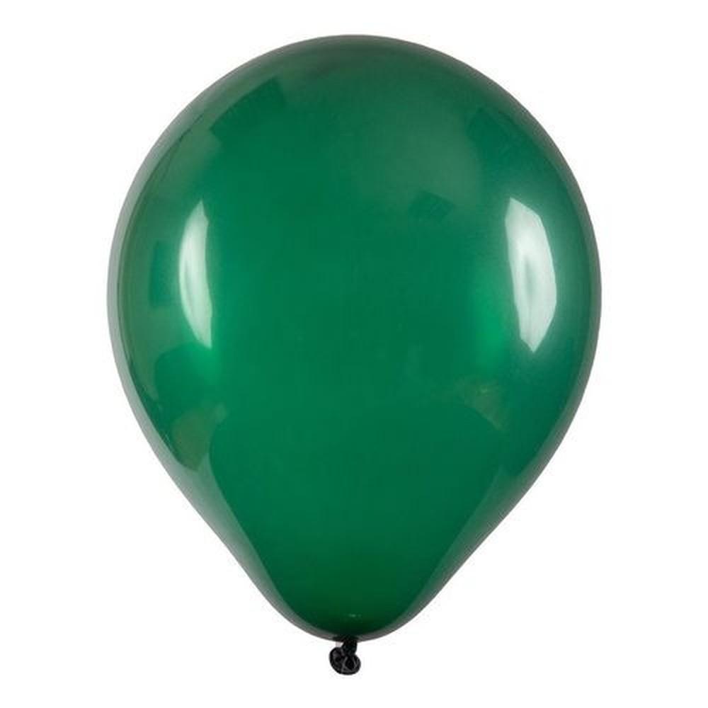 Bexiga número 6,5 Verde Escuro - 100 unidades