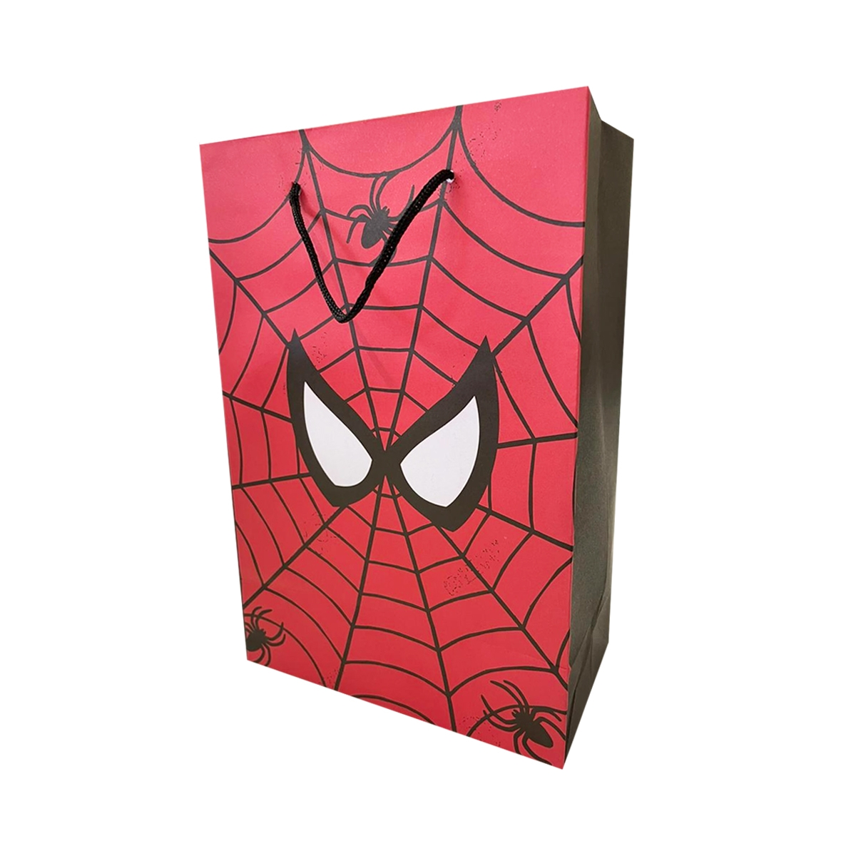 Bolsa de papel homem aranha 10 unidades