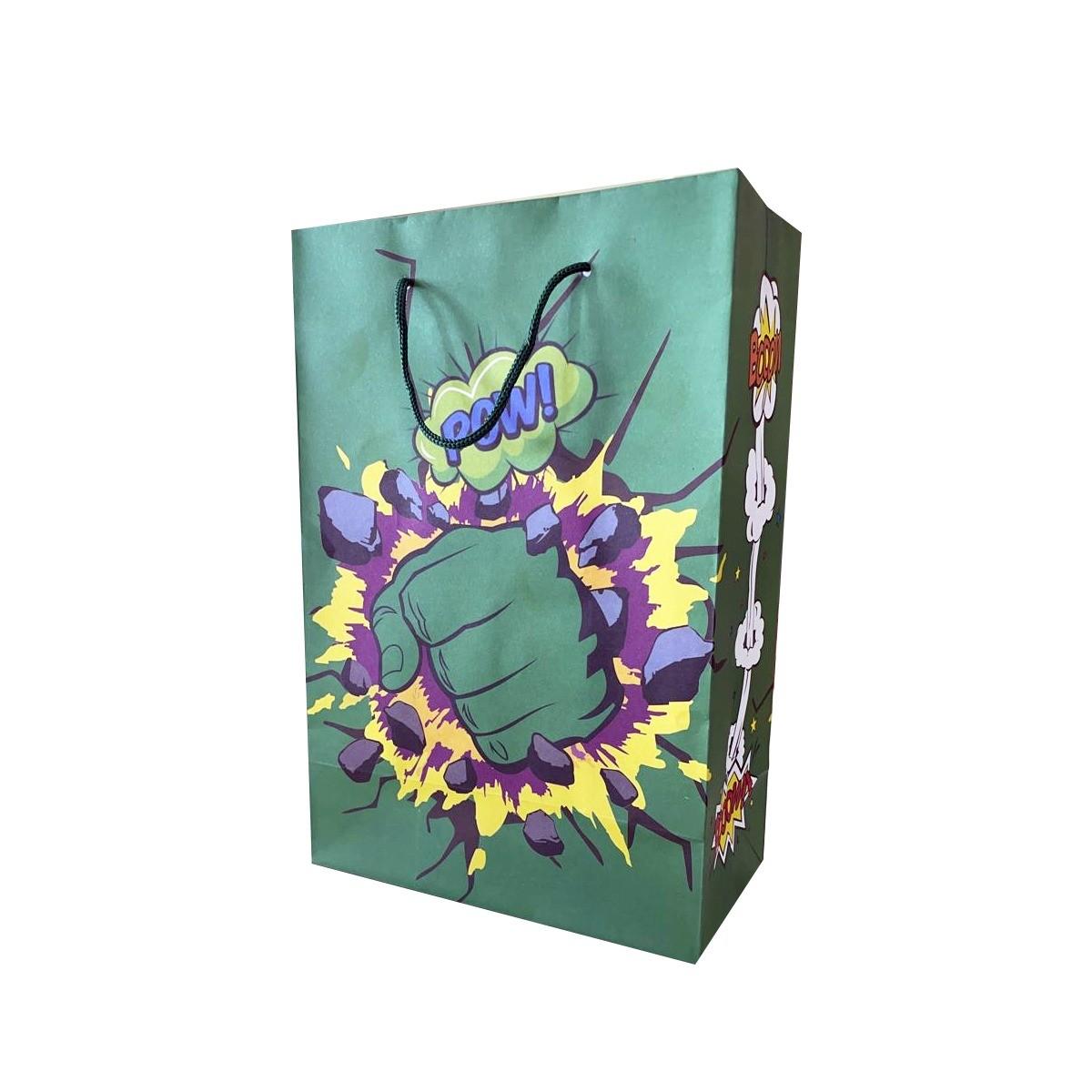 Bolsa de papel hulk 10 unidades