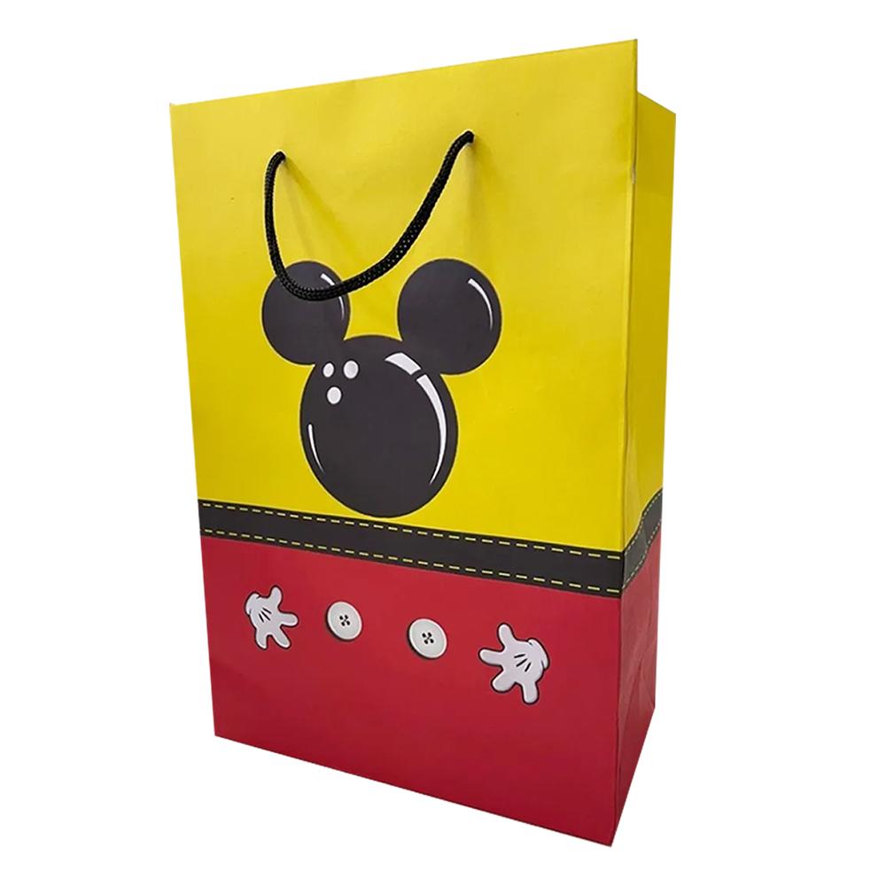 Bolsa de papel mickey 10 unidades