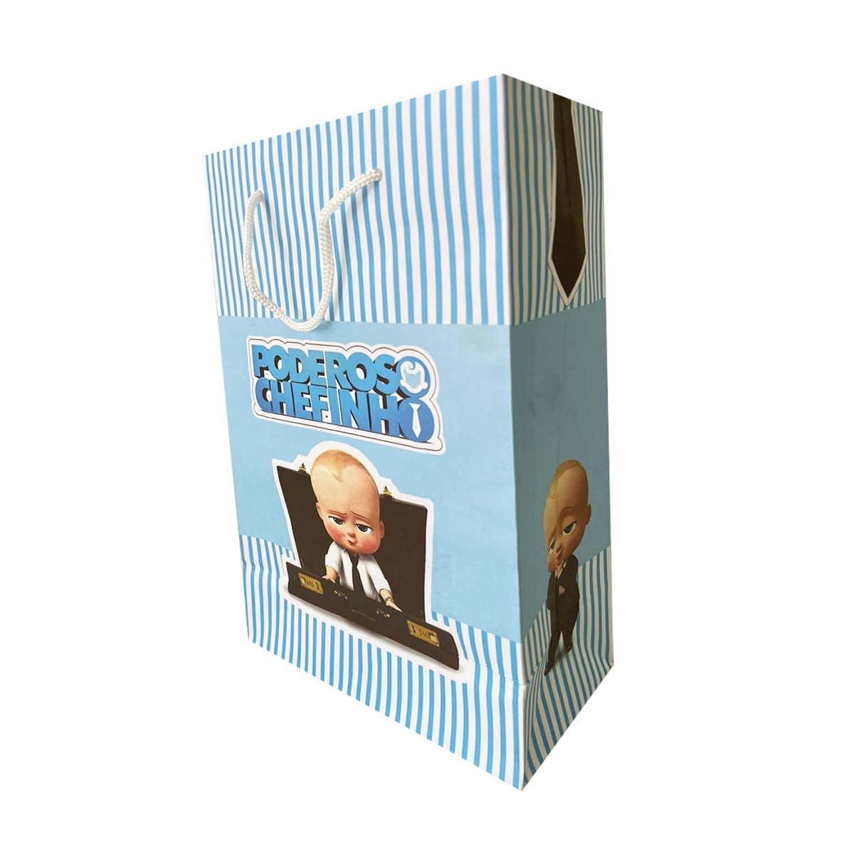Bolsa de papel poderoso chefinho 10 unidades