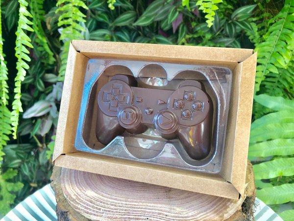 Caixa Controle Video Game 1 Cavidade Kraft - 05 unidades - Crystal