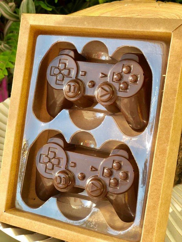 Caixa Controle Video Game 2 Cavidades Branca - 05 unidades - Crystal