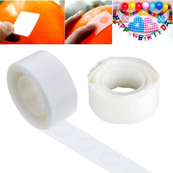 Cola adesivo gota para balão