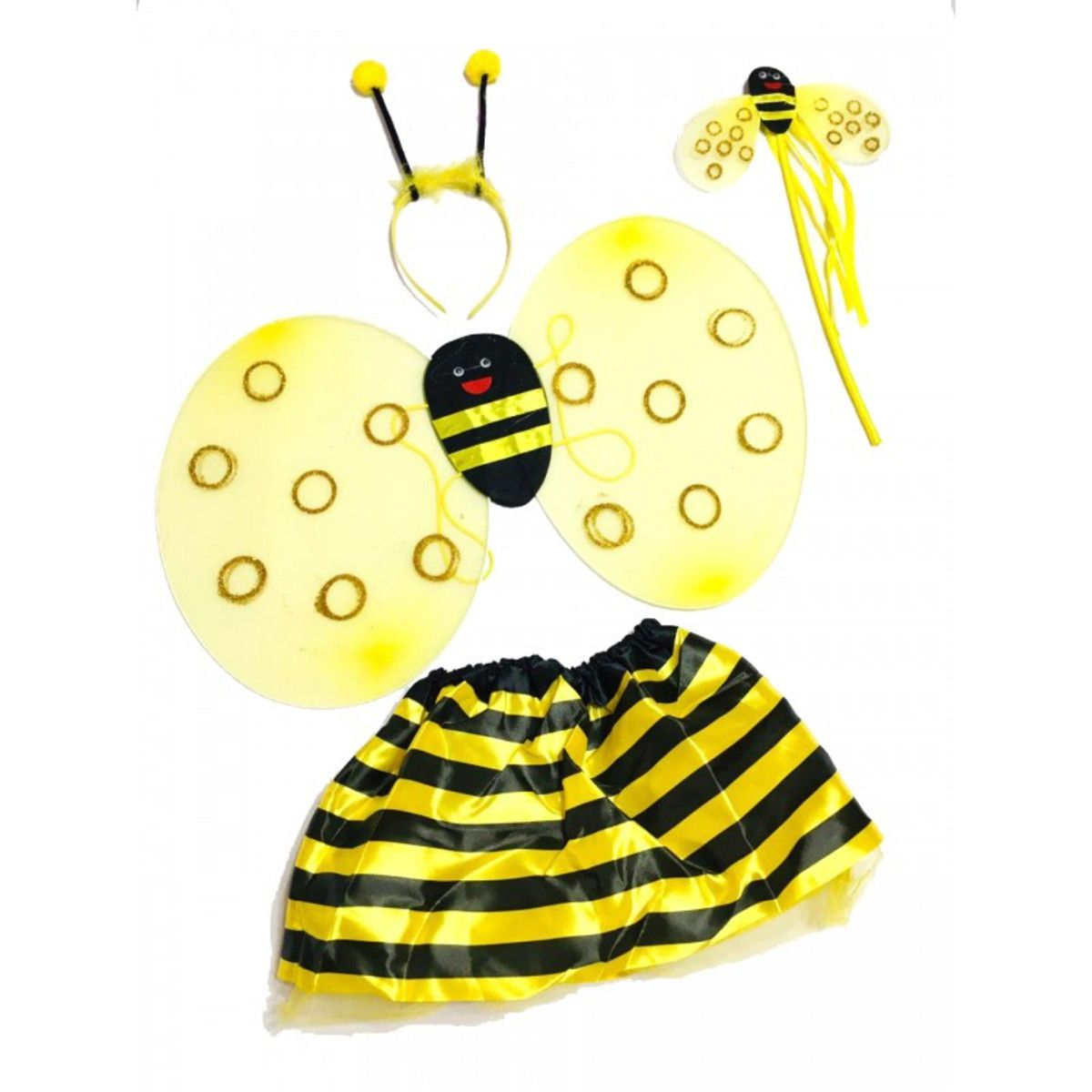 Fantasia abelhinha infantil