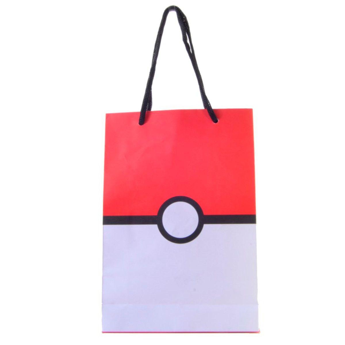Sacola Pokemon Pokebola 10 unidades
