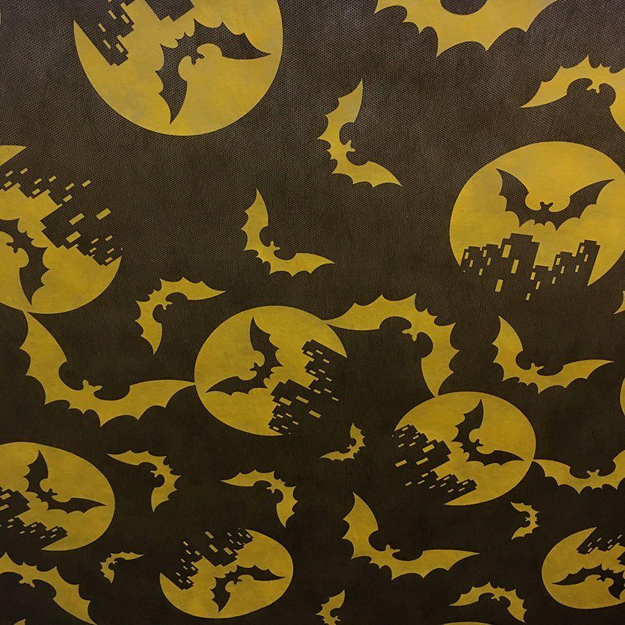 Tnt Estampado Morcego 1,4m X 2m