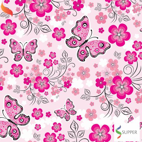 Tnt estampado borboleta jardim 1,40x2m