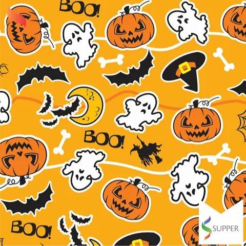 Tnt Estampado Dia das Bruxas Halloween 1,4m X 2m