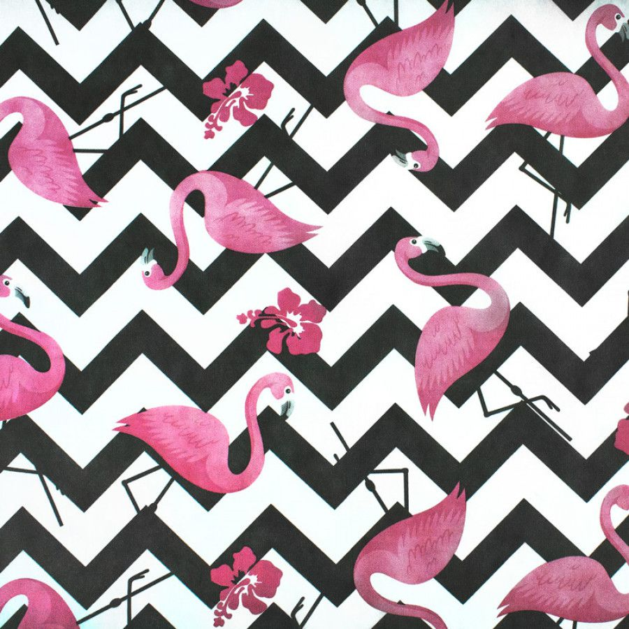 Tnt Estampado Flamingo Painel 1,4m X 5m