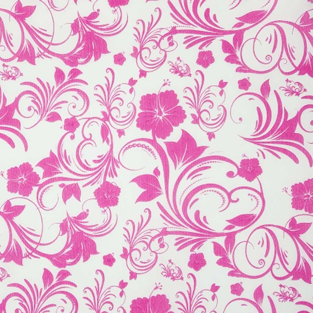 Tnt Estampado floral rosa 1,4m X 2m