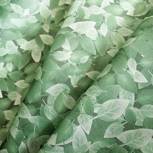 Tnt Estampado folha de Muro Ingles 1,4m X 5m