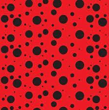 Tnt Estampado Vermelho Com Poá Preto Lady Bug 1,4m X 5m