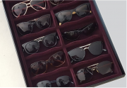 Porta Óculos Aveludado VINHO