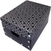 Smart Box Black Flower Tam M