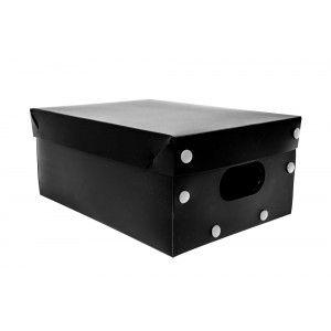 Caixa Org smart Box Black TAM.P - tampa e base Preta