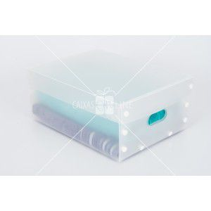 Caixa Org.smart Box Clean Tampa e Base Transp. (M)