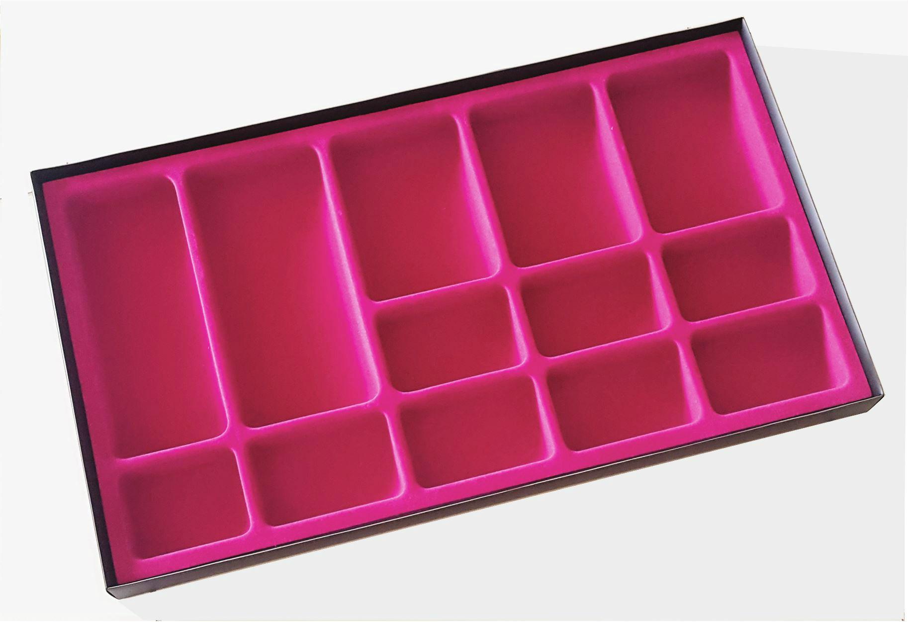 Porta Joias Aveludado Pink Tam.G