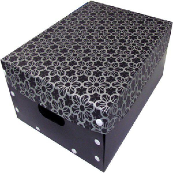 Smart Box Black Flower