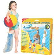 Aqua Pauher protetor de gesso e ferimentos infantil - INFERIOR