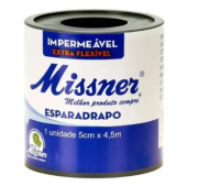 ESPARADRAPO IMPERMEÁVEL 5CM X 4,5M BRANCO - MISSNER